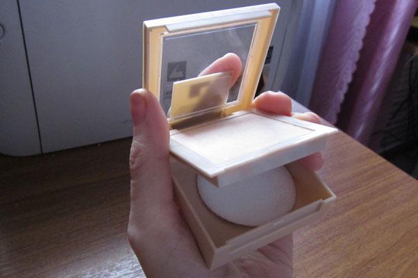 Пудра с зеркалом фото