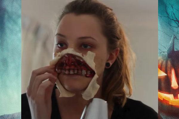 Верхняя челюсть маски зомби