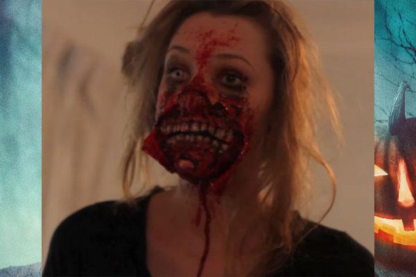 Образ зомби для девушки на Хэллоуин фото