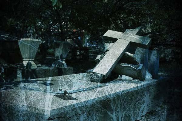 Надгробие, кладбище