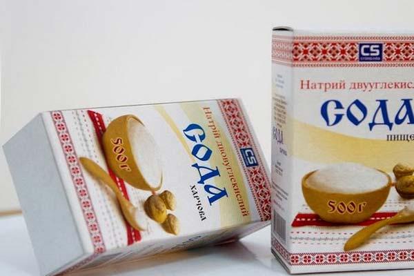 Сода пищевая для косметических процедур