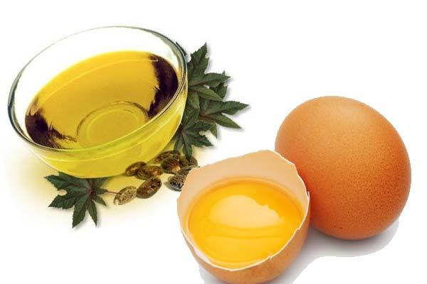 Касторовое масло и желток