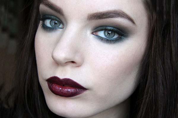 Профессиональный макияж при нависшем веке фото