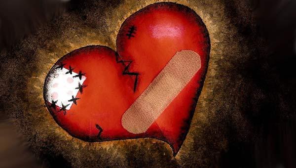 покалеченное сердце