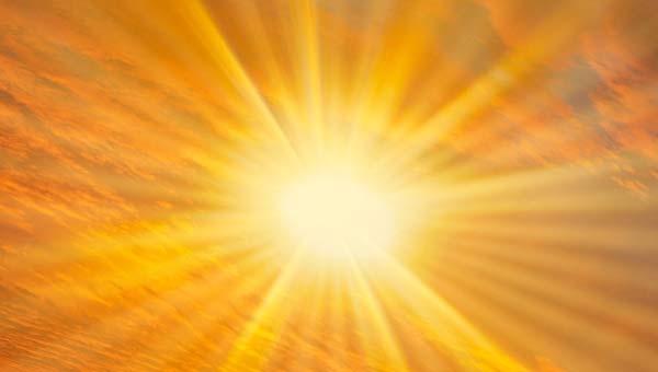 солнечные лучи арт